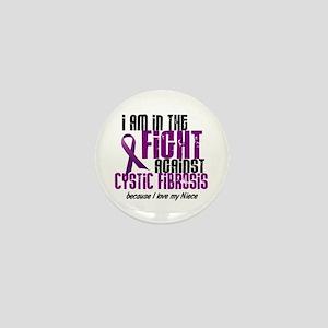 In The Fight Against CF 1 (Niece) Mini Button