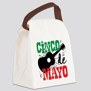 Cinco de Mayo Canvas Lunch Bag