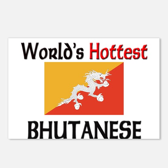 World's Hottest Bhutanese Postcards (Package of 8)