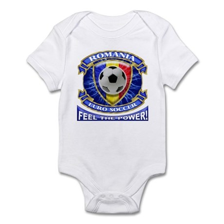 Romania Soccer Power Infant Bodysuit