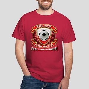 Poland Soccer Power Dark T-Shirt