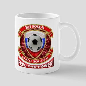 Russia Soccer Power Mug
