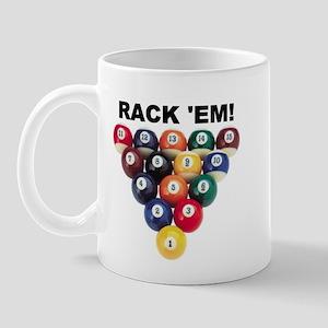 RACK 'EM! Mug
