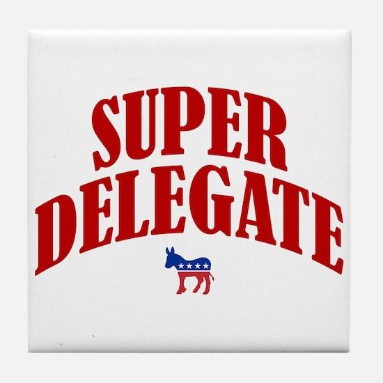 Super Delegate Tile Coaster
