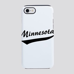 Minnesota Swoosh Bk iPhone 8/7 Tough Case
