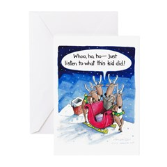 What reindeer do... Greeting Cards (Pk of 10)
