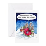 What reindeer do... Greeting Cards (Pk of 20)