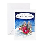 What reindeer do... Greeting Card