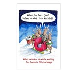 What reindeer do... Postcards (Package of 8)