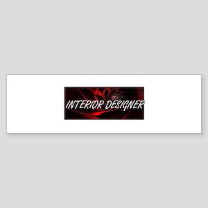 Interior Designer Professional Job Bumper Sticker