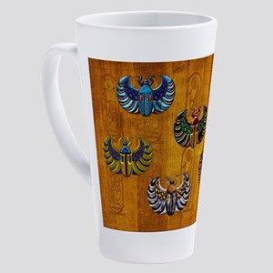 Harvest Moons Scarabs 17 oz Latte Mug