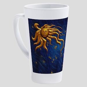 Harvest Moons Sun and Moon 17 oz Latte Mug