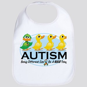 Autism Ugly Duckling Bib
