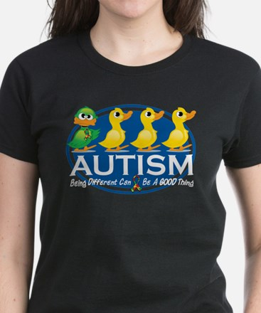 Autism Ugly Duckling Women's Dark T-Shirt