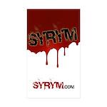 Syrym Rectangle Sticker 10 pk)