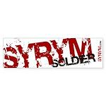Syrym Soldier Bumper Sticker