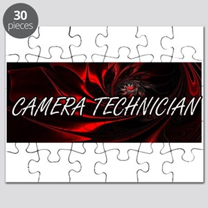 Camera Technician Professional Job Design Puzzle