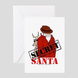 secret santa stationery cafepress