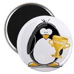 Trophy Winner Penguin Magnet