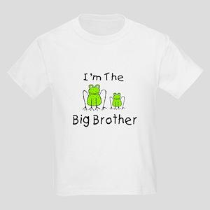 I'm The Big Brother - Frog Kids Light T-Shirt