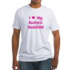 I Love My Autistic Godchild Shirt