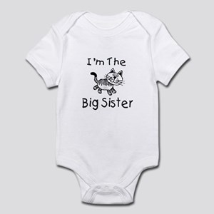 I'm The Big Sister - Cat Infant Bodysuit