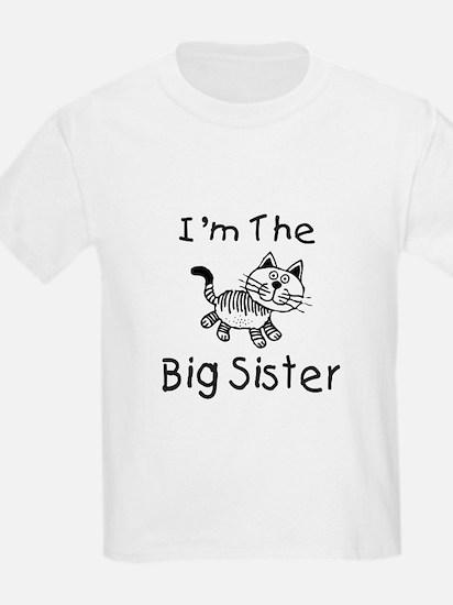 I'm The Big Sister - Cat T-Shirt