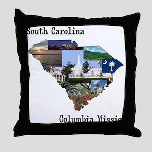 South Carolina Columbia Missi Throw Pillow