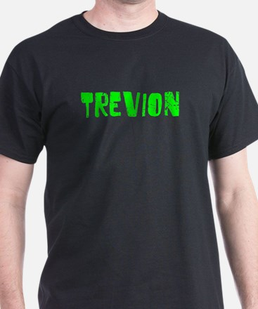 Trevion Faded (Green) T-Shirt