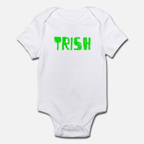 Trish Faded (Green) Infant Bodysuit