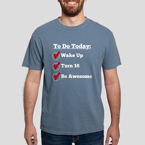 16th Birthday Checklist T-Shirt