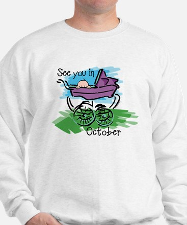 See You In October Sweatshirt
