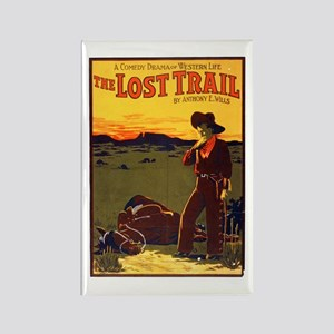 The Lost Trail Rectangle Magnet