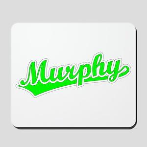 Retro Murphy (Green) Mousepad