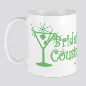 Green C Martini Bride's Cousin Mug