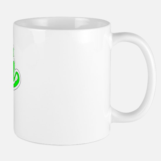 Retro Myah (Green) Mug