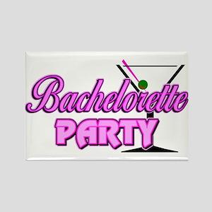 Martini: Bachelorette Party Rectangle Magnet