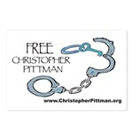 FREE Christopher Pittman Postcards (Package of 8)