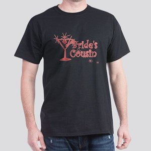 Red C Martini Bride's Cousin Dark T-Shirt