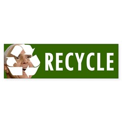 Recycle Bumper Sticker (10 pk)