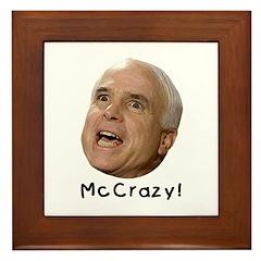 McCrazy! Framed Tile