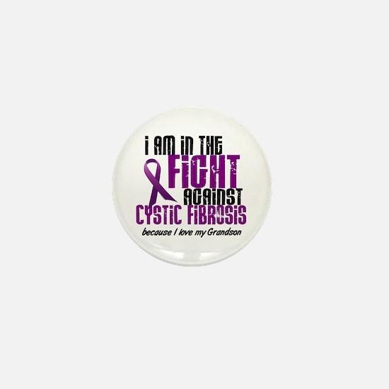 In The Fight Against CF 1 (Grandson) Mini Button