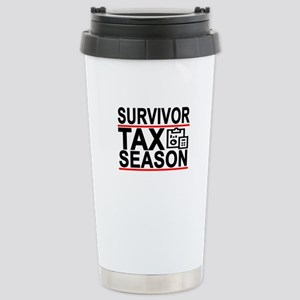 SURVIVOR Tax Season Funny Accountant T-Shirt . Mug