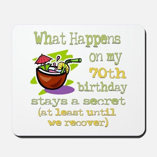 What Happens 70th Mousepad