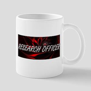 Research Officer Professional Job Design Mugs