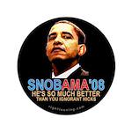 SNOBAMA '08 anti-Obama 3.5