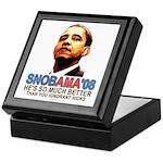 SNOBAMA '08 anti-Obama Keepsake Box