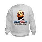 SNOBAMA '08 anti-Obama Kids Sweatshirt