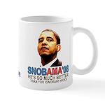 SNOBAMA '08 anti-Obama Mug