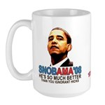 SNOBAMA '08 anti-Obama Large Mug
